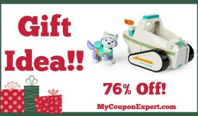 Hot Holiday Gift Idea! Paw Patrol Everest's Rescue Snowmobile, Vehicle and Figure Only $11.99 – 76% Off!