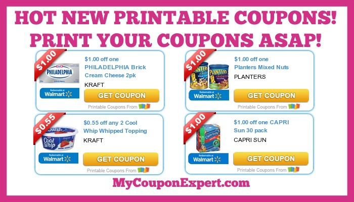 photo about Kraft Coupons Printable named Warm Clean Printable Coupon codes: Planters, Interesting Whip, Capri Solar