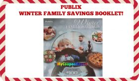 Publix Coupon Booklet!  WINTER FAMILY SAVINGS!  My Favorite!