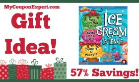 Hot Holiday Gift Idea! Scientific Explorer Ice Cream Science Kit Only $11.50 – 57% Savings!