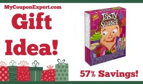 Hot Holiday Gift Idea! Scientific Explorer Tasty Science Kit Only $11.50 – 57% Savings