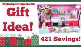 Hot Holiday Gift Idea! Shopkins Chef Club Hot Spot Kitchen Playset Only $14.39 – 42% Savings