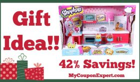 Hot Holiday Gift Idea! Shopkins Chef Club Hot Spot Kitchen Playset Only $14.39 – 42% Savings!