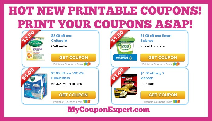 graphic regarding Printable Pampers Coupons identified as Incredibly hot Fresh Printable Coupon codes: Idahoan, Vicks, Dole, Huggies