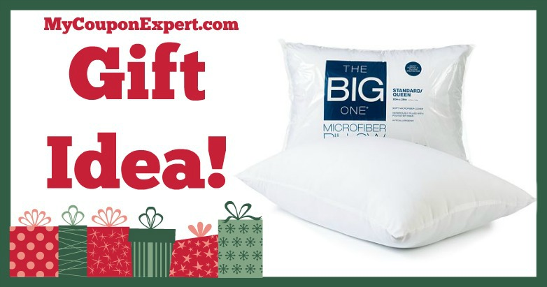 hot holiday gift idea the big one microfiber pillow only reg. Black Bedroom Furniture Sets. Home Design Ideas