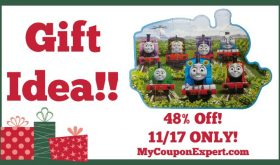 Hot Holiday Gift Idea! Thomas & Friends 24 Piece Floor Puzzle Only $7.75 (48% Off – 11/17 ONLY!)