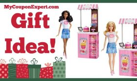 Hot Holiday Gift Idea! Barbie Careers Bakery Shop Playset Only $9.99 (Reg. $19.99, 50% Savings!)