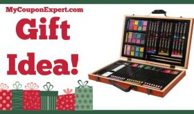 Hot Holiday Gift Idea! Darice 80-Piece Deluxe Art Set Only $12.69 – 68% Savings!!