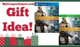 Hot Holiday Gift Idea! Destiny The Collection Video Game Only $24.99 (58% Savings – TODAY ONLY!!!)