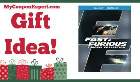 Hot Holiday Gift Idea! Fast & Furious 7-Movie Collection Only $27.99 – 53% Savings!!