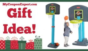 Hot Holiday Gift Idea! Fisher-Price Grow to Pro Basketball Only $46.97 – Lowest Price Online!!