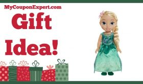 Hot Holiday Gift Idea! Frozen Fever Toddler Elsa Doll Only $9.52 – 62% Savings!!!