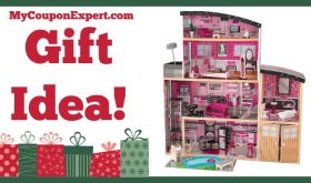 Hot Holiday Gift Idea! KidKraft Sparkle Mansion Only $99.99 (Reg. $239.99, 58% Savings!!)