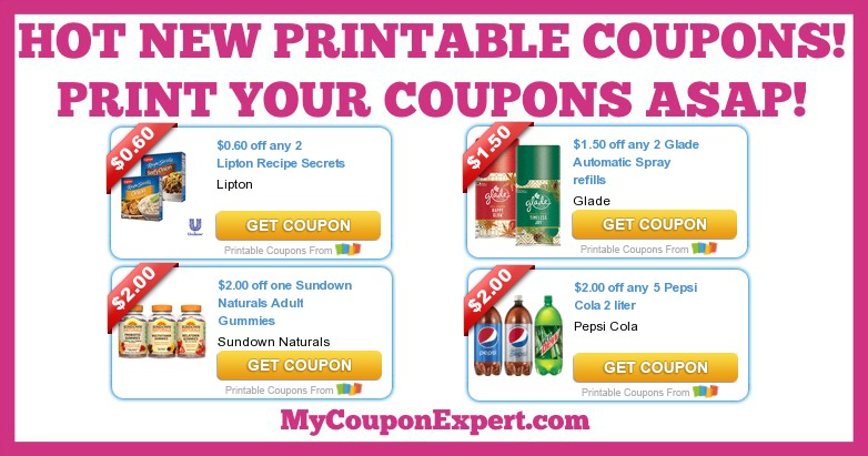 picture regarding Glade Printable Coupons referred to as Scorching Fresh new Printable Coupon codes: Glade, Pepsi, Sundown, Lipton