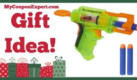 Hot Holiday Gift Idea! Nerf N-Strike GlowShot Blaster Only $7.99 (58% Savings!)