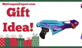 Hot Holiday Gift Idea! Nerf RebelleArrowtech Lightning Bolt Bow Only $9.97 (55% Savings!!)