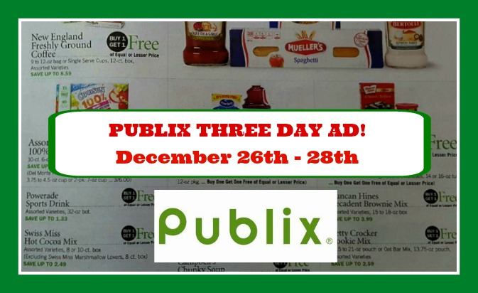 florida publix coupon matchups