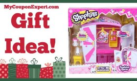 Hot Holiday Gift Idea! Shopkins Style Me Wardrobe Fashion Playset Only $8.86 (51% Savings!)