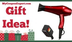 Hot Holiday Gift Idea! Wazor Ceramic Ionic Blow Dryer Only $34.66 (Reg. $108.99, 68% Savings!)
