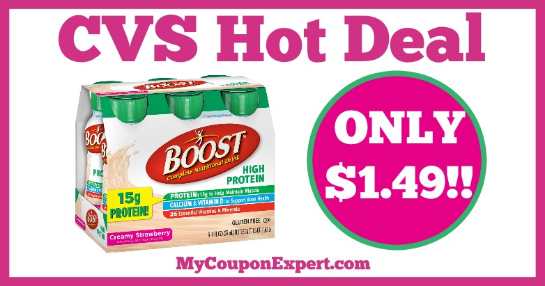 Boost Hot CVS Deal