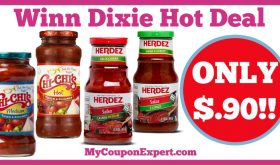 Hot Deal Alert! Chi-Chi's or Herdez Salsa Only $.90 at Winn Dixie from 1/11 – 1/17