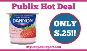 Hot Deal Alert! Dannon Whole Milk Yogurt Only $.25 at Publix from 1/7 – 1/27