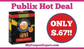 Hot Deal Alert! Dreamfields Pasta Only $.67 at Publix from 1/7 – 1/27