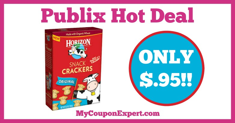 Hot Deal Alert! Horizon Grahams or Crackers Only $.95 at Publix from 1/7 – 1/27