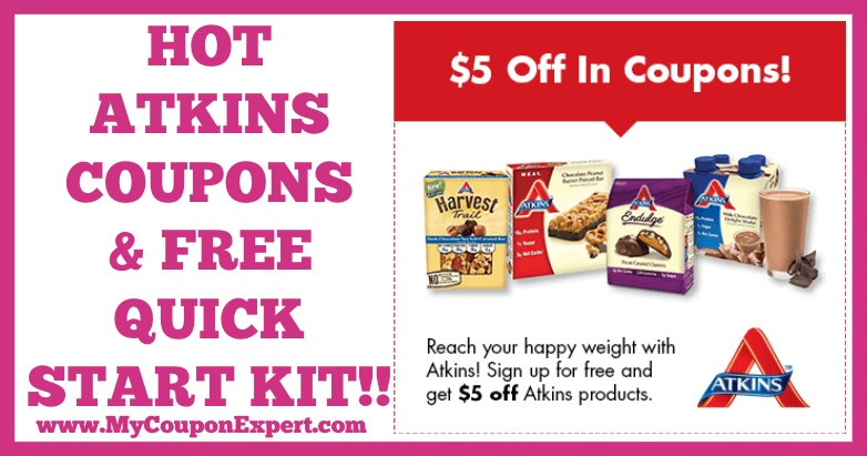 picture about Atkins Coupon Printable identified as WOW!! Observe This Out!! Printable Discount codes for $5 Off Any