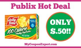 Hot Deal Alert! Jolly Time Healthy Pop Popcorn Only $.50 at Publix from 1/7 – 1/27