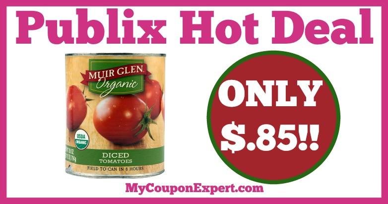 Muir Glen Organic Tomatoes Hot Publix Deal