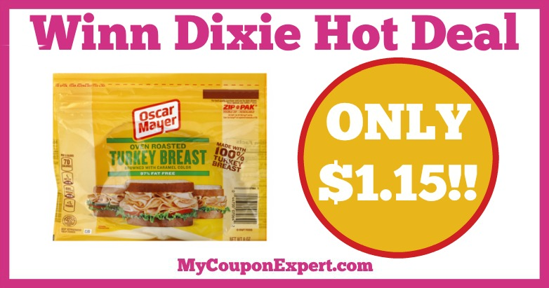 Oscar Mayer Lunchmeat Hot Winn Dixie Deal