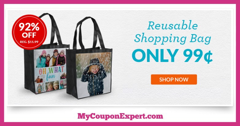 York Photo Reusable Custom Shopping Bag Deal
