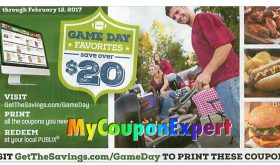Publix Coupon Booklet! Game Day Favorites!  Printable too!