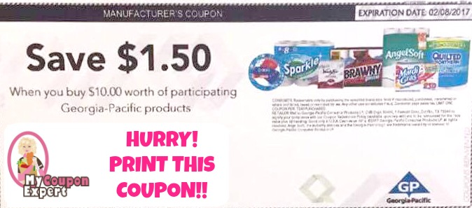 photograph about Sparkle Coupons Printable titled Sizzling Ga Pacific Coupon!! Print this immediately absent!! ·