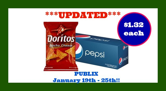 pepsi and doritos Publix deal updated