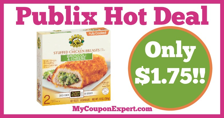 Hot Deal Alert Barber Foods Stuffed Chicken Breasts Only 175 At