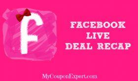TOP TEN Deals at Winn Dixie & Publix from my facebook LIVE video!