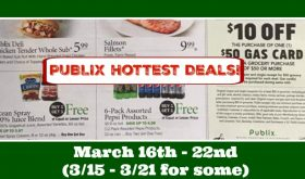 Publix HOTTEST DEALS March 16th – 22nd!!  Check this out!