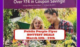 Publix PURPLE Flyer HOTTEST DEALS, March 11th – 24th!