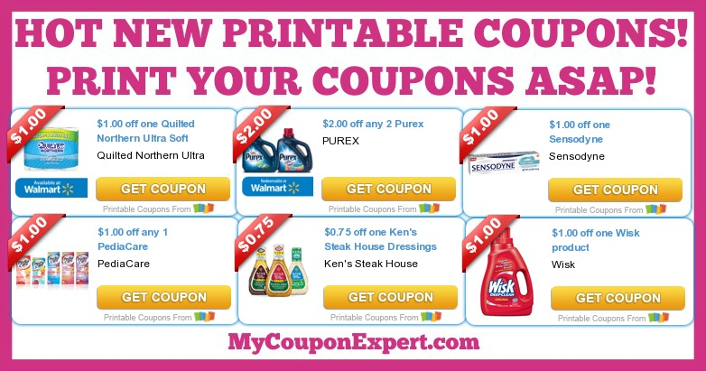 HOT NEW Printable Coupons: Purex, PediaCare, Ken's Dressings, Wisk ... : quilted northern printable coupons - Adamdwight.com