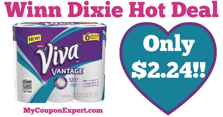 photograph about Viva Printable Coupons called Incredibly hot Package Warn! Viva Paper Towels Simply $2.24 at Winn Dixie