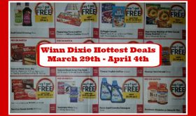 Winn Dixie Matchups March 29th – April 4th!!  Check it out!