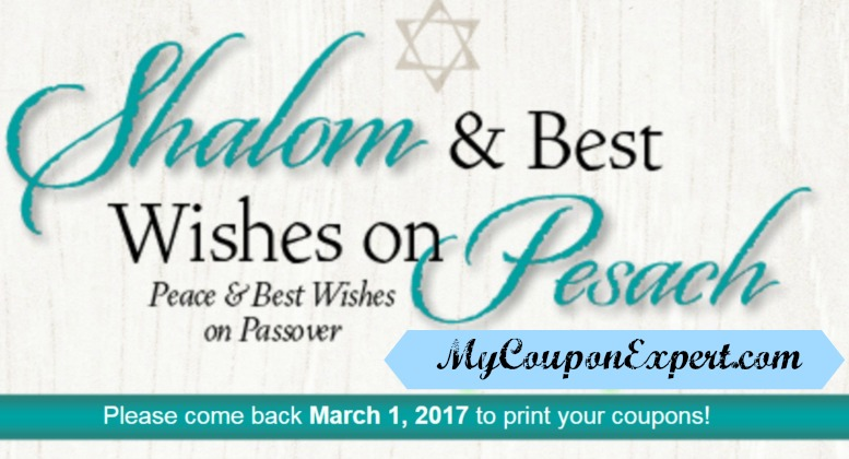 MORE NEW PUBLIX COUPONS!!  Printable too!! Shalom & Best Wishes!