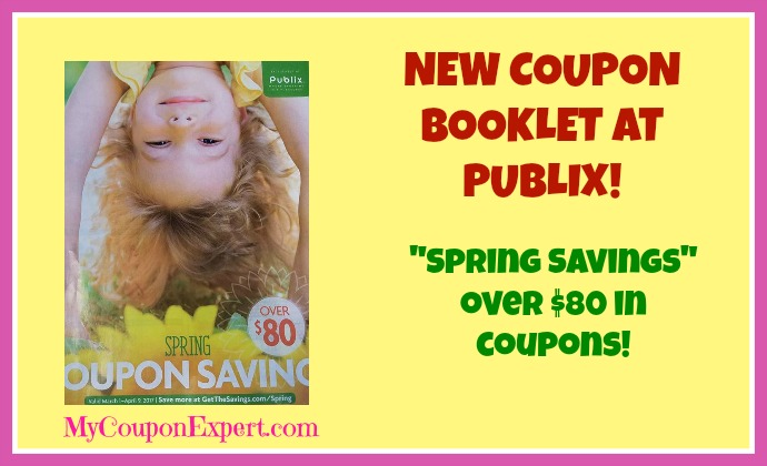 NEW Publix Coupon Booklet!  Spring Savings!  Printable too!
