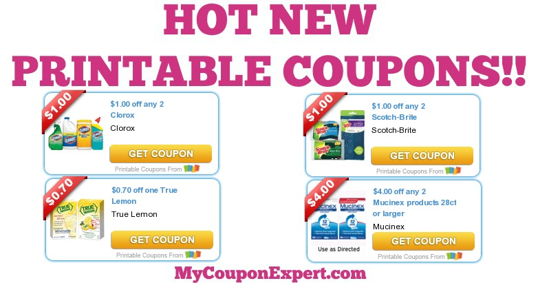 graphic regarding Tampax Coupons Printable referred to as Printable Discount codes: Clorox, Mucinex, Coppertone, Zantac