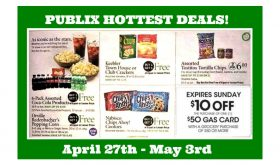 Publix HOTTEST DEALS April 27th – May 3rd!  GAS CARD WEEK AGAIN!