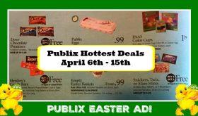 Publix  HOTTEST DEALS April 6th – 15th!  HUGE EASTER AD!