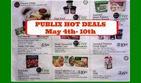 Publix HOTTEST DEALS May 4th – 10th!  Check it out!