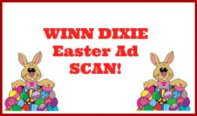 Winn Dixie BIG EASTER AD Scan!  Check out all pages!